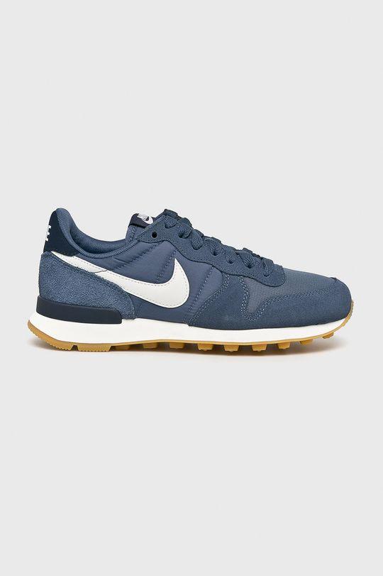 modrá Nike Sportswear - Topánky WMNS Internationalist Dámsky