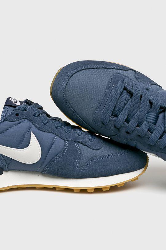 modrá Nike Sportswear - Topánky WMNS Internationalist