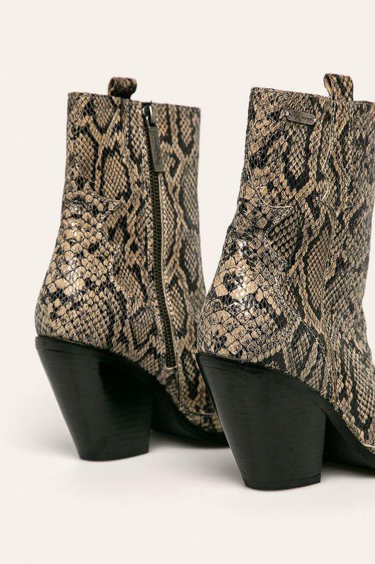 Pepe Jeans - Členkové topánky Hampstead Snake  Zvršok: Prírodná koža Vnútro: Textil, Prírodná koža Podrážka: Syntetická látka