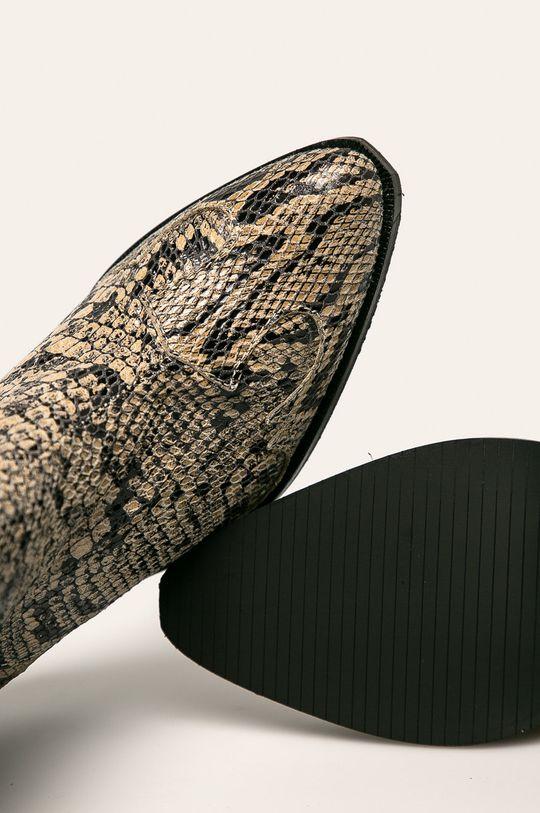 piesková Pepe Jeans - Členkové topánky Hampstead Snake