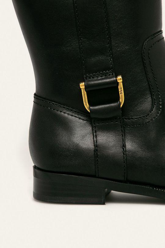 čierna Lauren Ralph Lauren - Vysoké čižmy