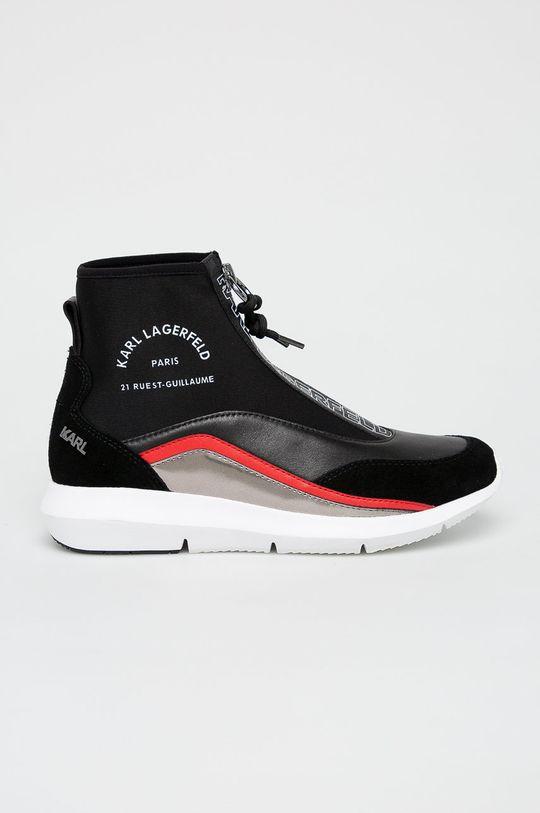 čierna Karl Lagerfeld - Topánky Dámsky
