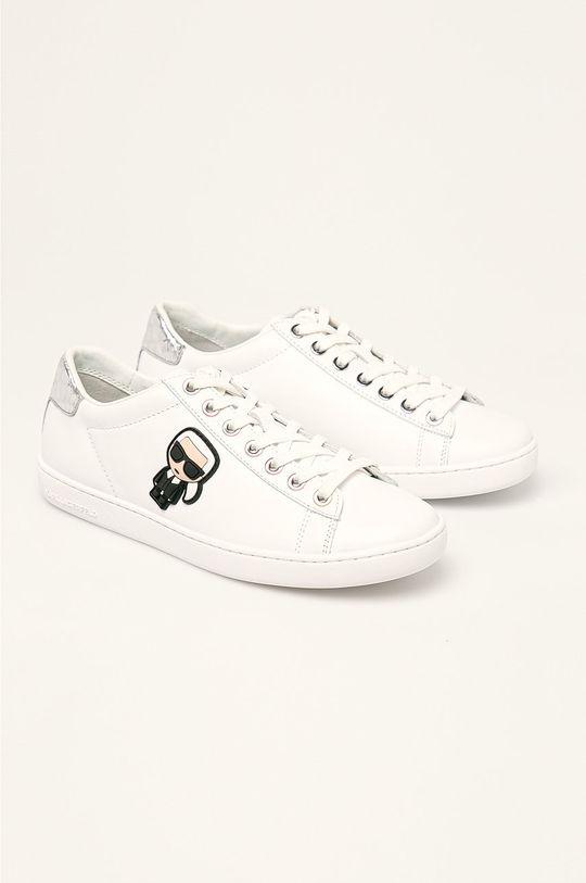 Karl Lagerfeld - Pantofi alb