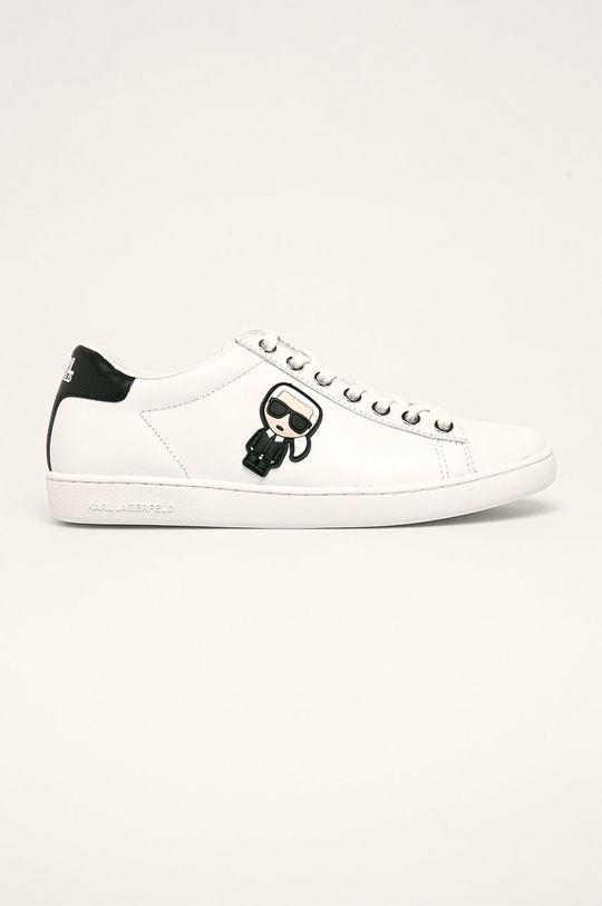 biały Karl Lagerfeld - Buty Damski
