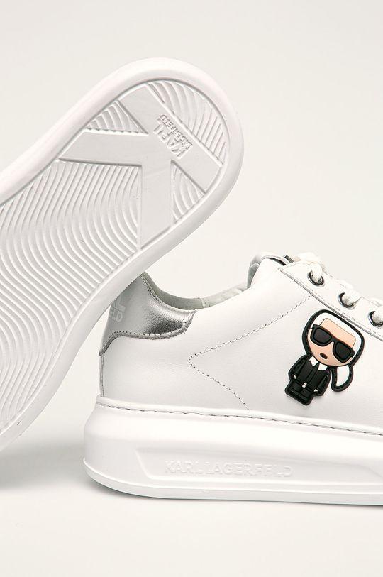 Karl Lagerfeld - Buty Cholewka: Skóra naturalna, Wnętrze: Materiał syntetyczny, Skóra naturalna, Podeszwa: Materiał syntetyczny