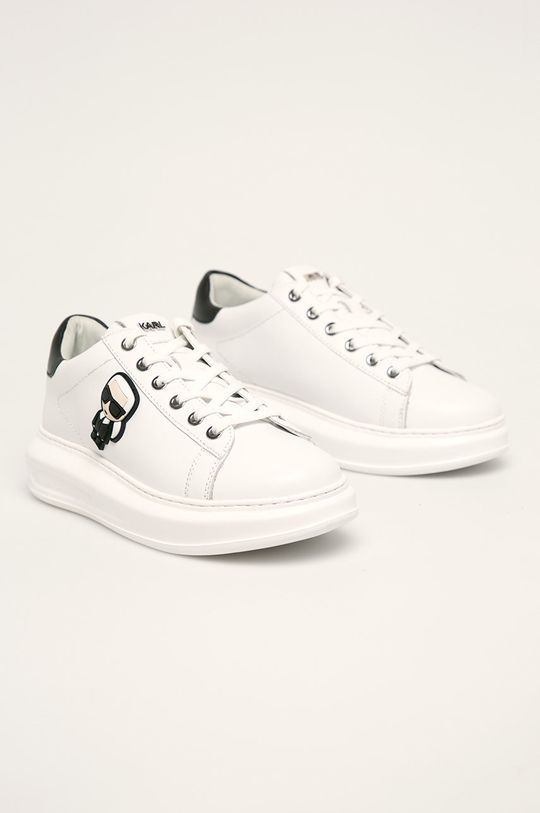 Karl Lagerfeld - Boty bílá