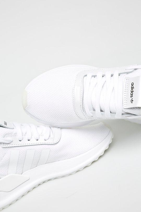 bílá adidas Originals - Boty U_Path X W