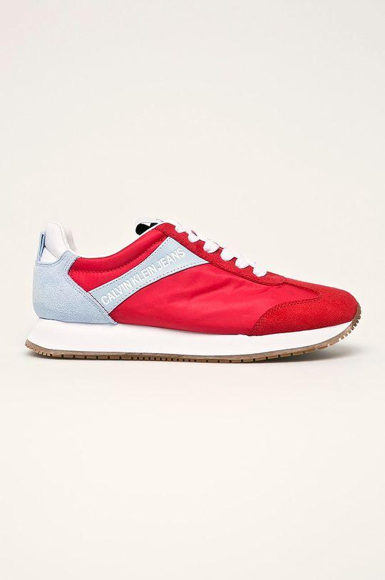 červená Calvin Klein Jeans - Topánky Dámsky