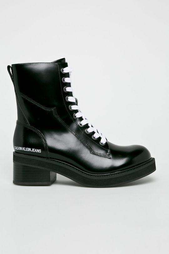 czarny Calvin Klein Jeans - Botki Damski