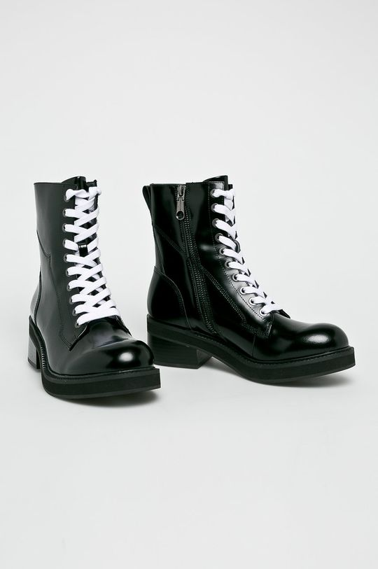 Calvin Klein Jeans - Botki czarny