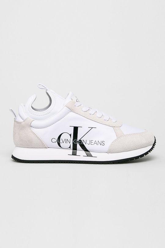 biela Calvin Klein Jeans - Topánky Dámsky