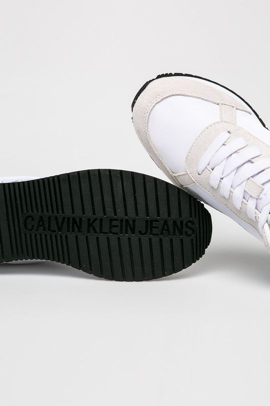 biela Calvin Klein Jeans - Topánky
