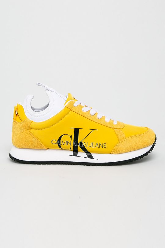 žlutá Calvin Klein Jeans - Boty Dámský