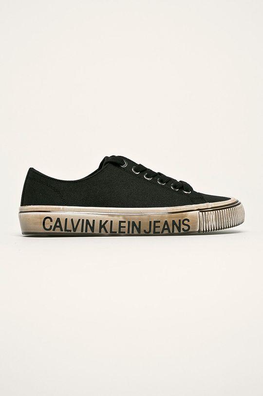 čierna Calvin Klein Jeans - Tenisky Dámsky