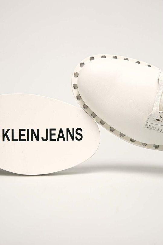 Calvin Klein Jeans - Botine Gamba: Piele naturala Interiorul: Material sintetic Talpa: Material sintetic