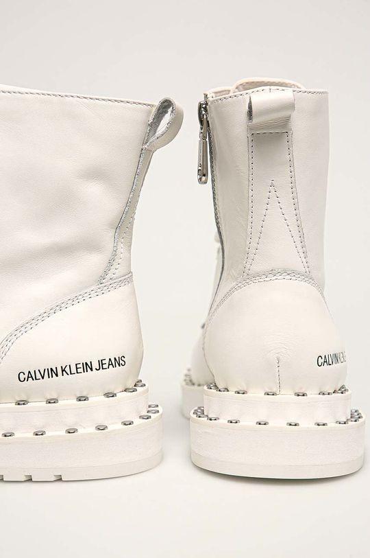 alb Calvin Klein Jeans - Botine