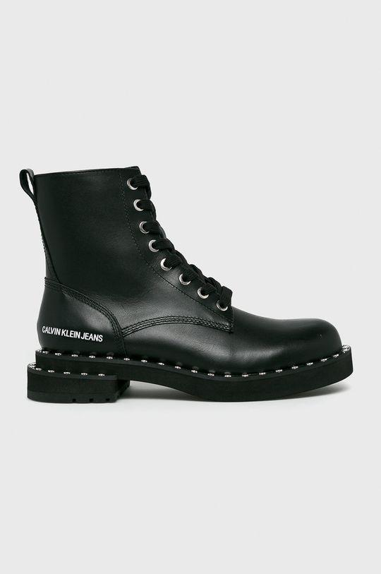 čierna Calvin Klein Jeans - Členkové topánky Dámsky