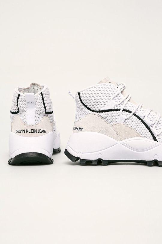 Calvin Klein Jeans - Boty Svršek: Textilní materiál, Semišová kůže Vnitřek: Textilní materiál Podrážka: Umělá hmota