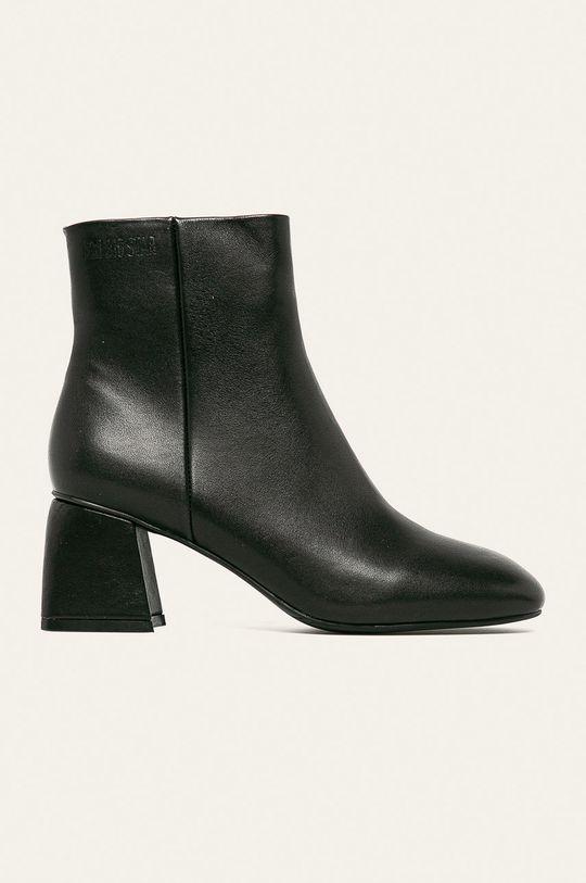 čierna Big Star - Členkové topánky Dámsky