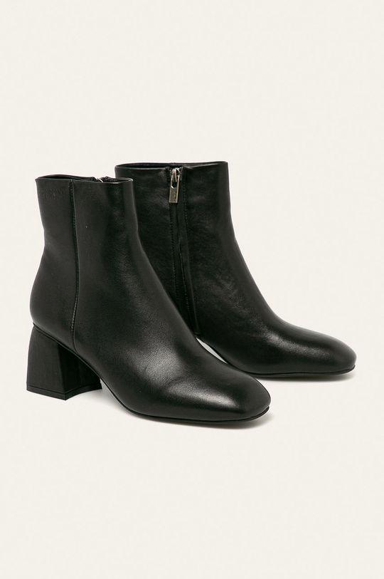 Big Star - Členkové topánky čierna