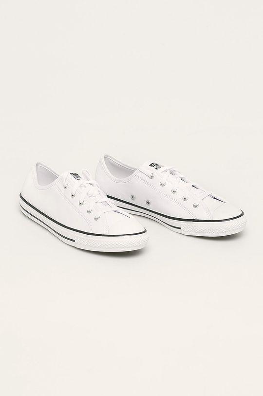 Converse - Tenisówki skórzane biały