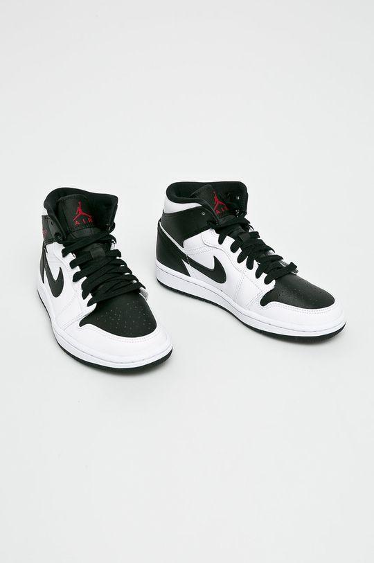 Jordan - Обувки Air Jordan 1 Mid бял