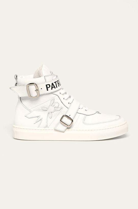 bílá Patrizia Pepe - Kožené boty Dámský