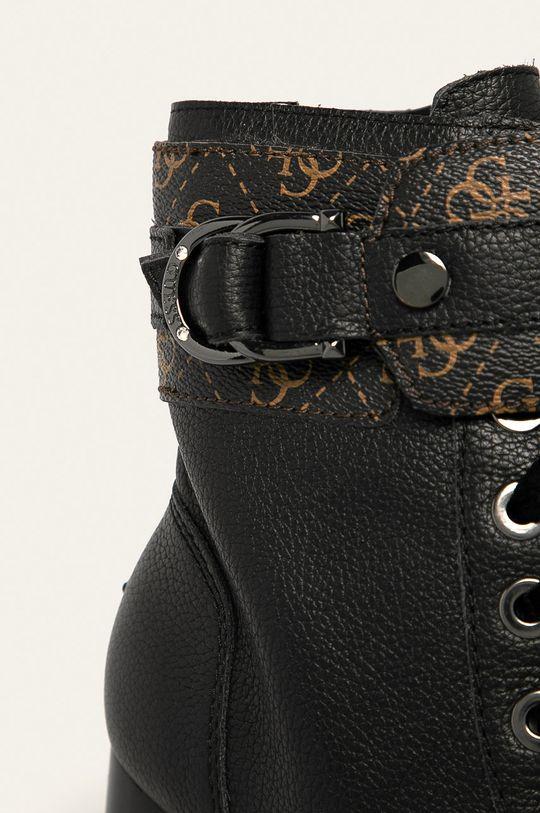Guess Jeans - Kožené členkové topánky Dámsky