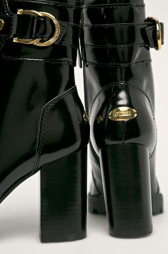 Guess Jeans - Nízké kozačky Svršek: Umělá hmota Vnitřek: Umělá hmota, Textilní materiál, Přírodní kůže Podrážka: Umělá hmota