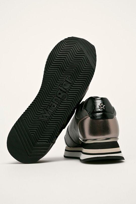 hnedá Wrangler - Topánky