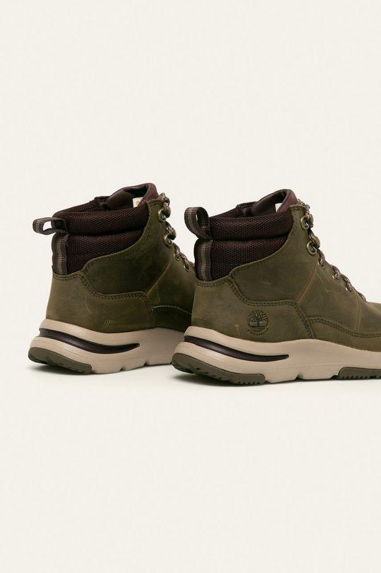 Timberland - Kožené kotníkové boty Mabel Town Svršek: Textilní materiál, Přírodní kůže Vnitřek: Textilní materiál Podrážka: Umělá hmota