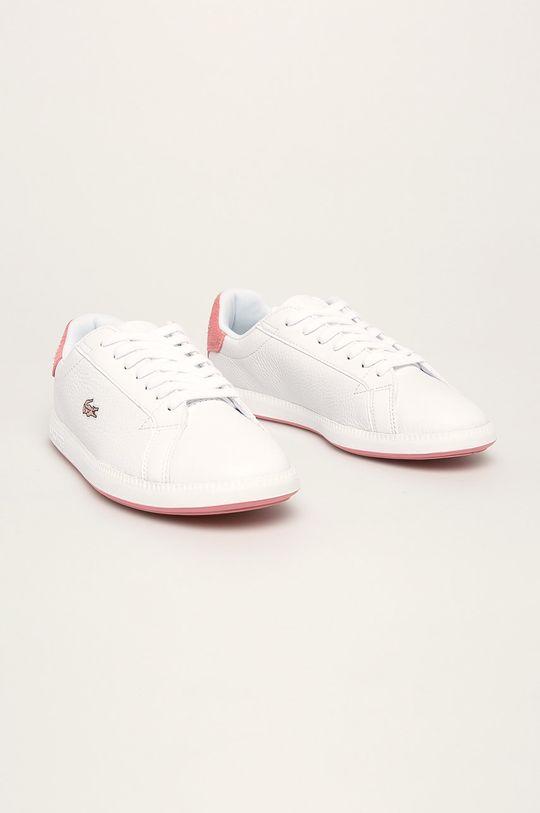 Lacoste - Pantofi Graduate 319 1 Sfa alb