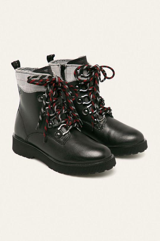 s. Oliver - Členkové topánky čierna