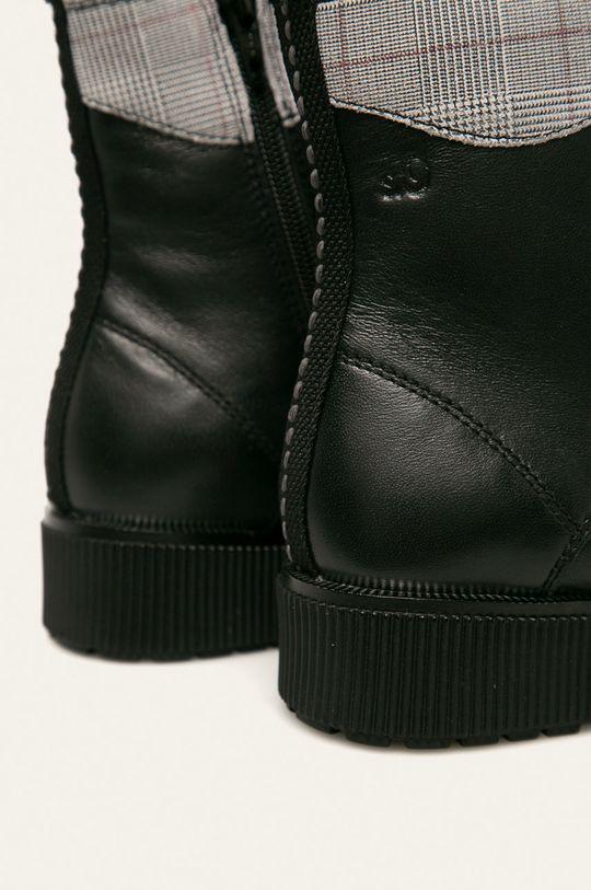 s. Oliver - Členkové topánky  Zvršok: Prírodná koža Vnútro: Textil Podrážka: Syntetická látka