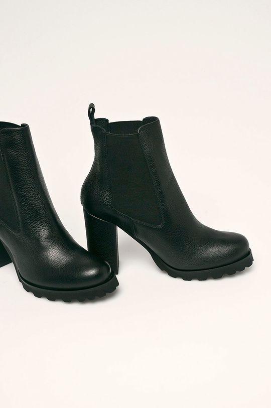 Solo Femme - Členkové topánky čierna
