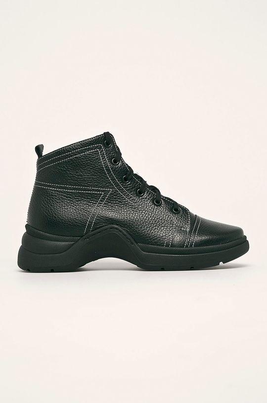 čierna Solo Femme - Členkové topánky Dámsky