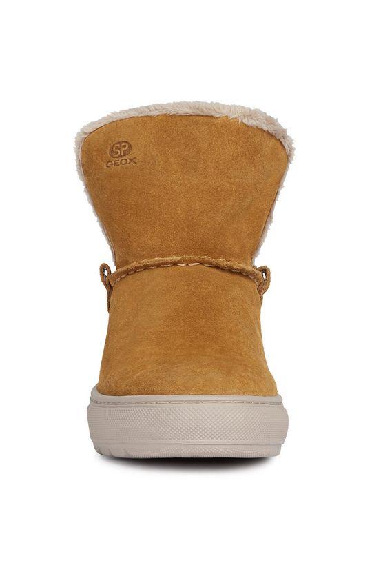 Geox - Členkové topánky  Zvršok: Semišová koža Vnútro: Textil Podrážka: Syntetická látka