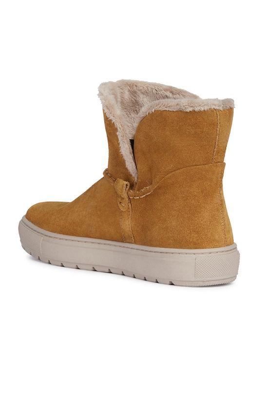 zlatohnedá Geox - Členkové topánky