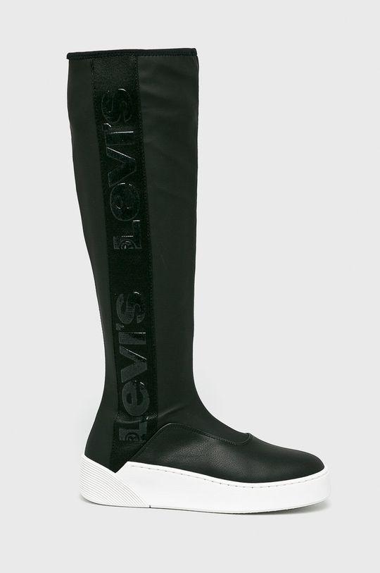 čierna Levi's - Vysoké čižmy Dámsky