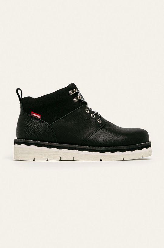 čierna Levi's - Členkové topánky Dámsky