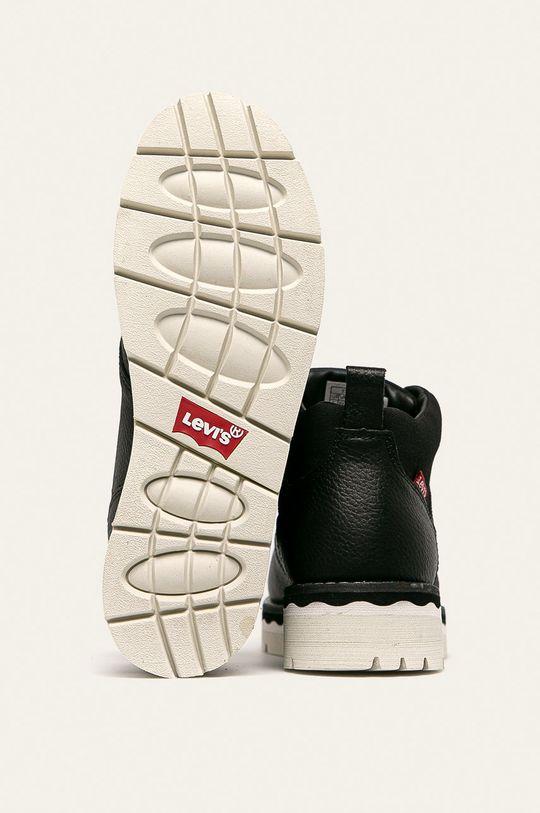 čierna Levi's - Členkové topánky