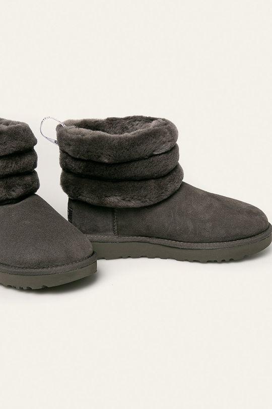 UGG - Cizme de iarna Fluff Mini Quilted gri