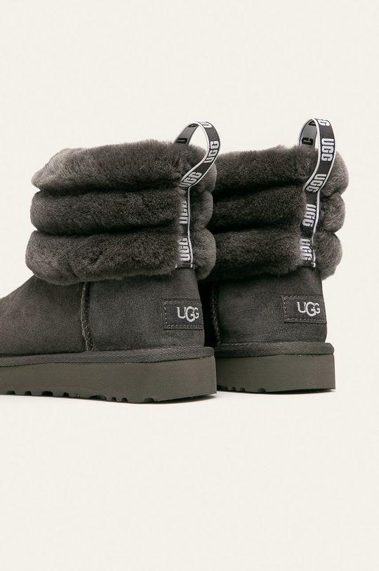 UGG - Cizme de iarna Fluff Mini Quilted Gamba: Material textil, Piele naturala Interiorul: Piele naturala Talpa: Material sintetic