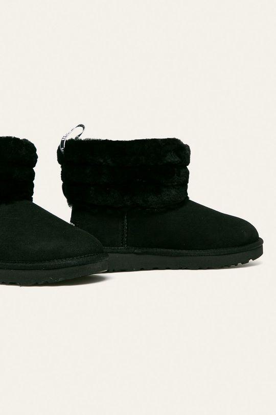UGG - Śniegowce Fluff Mini Quilted czarny