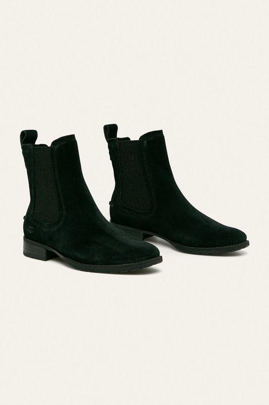 UGG - Členkové topánky Hillhurst II čierna