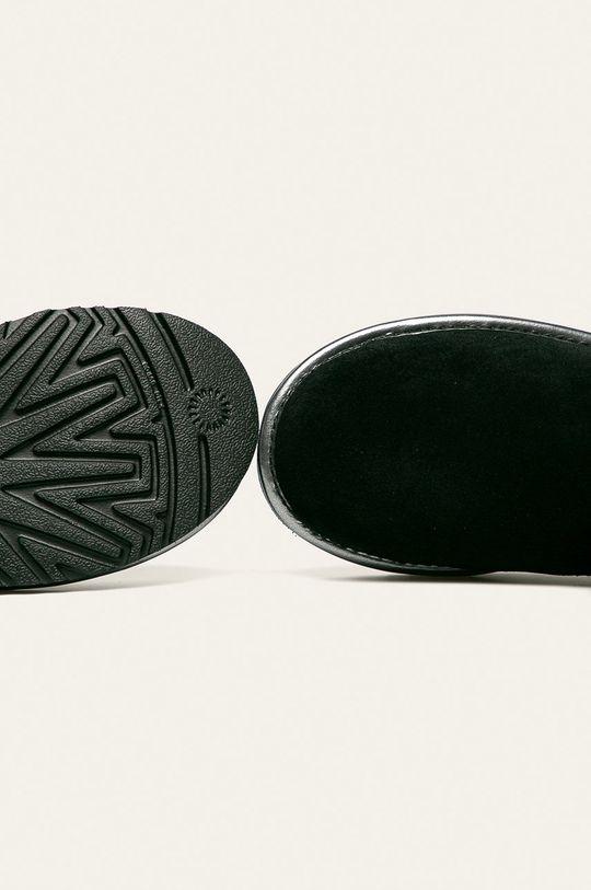 čierna UGG - Členkové topánky W Classic Mini Ugg Rubber Logo