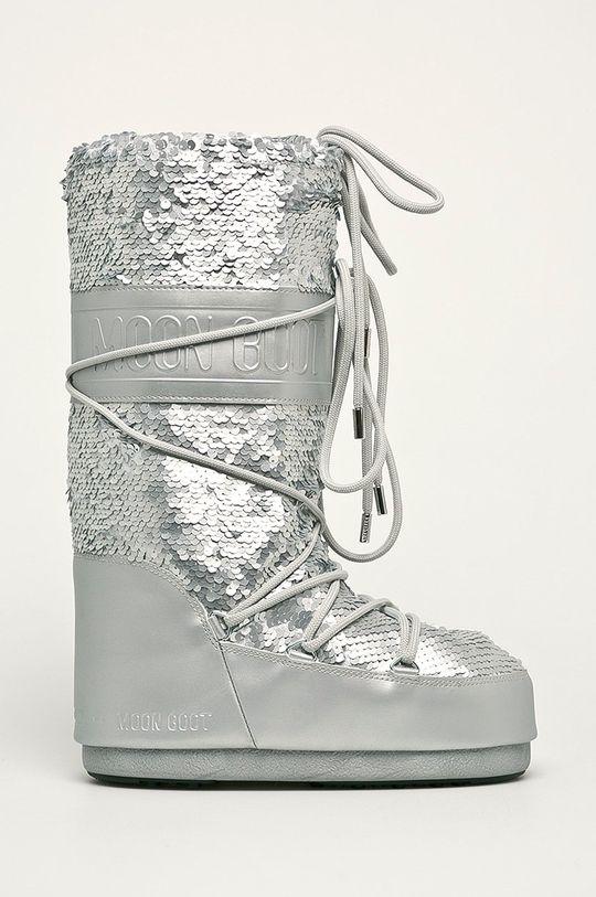 argintiu Moon Boot - Cizme de iarna Classic Disco De femei