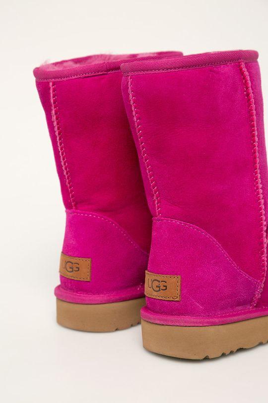 UGG - Členkové topánky W Classic Shotr II  Zvršok: Prírodná koža Vnútro: Vlna Podrážka: Syntetická látka