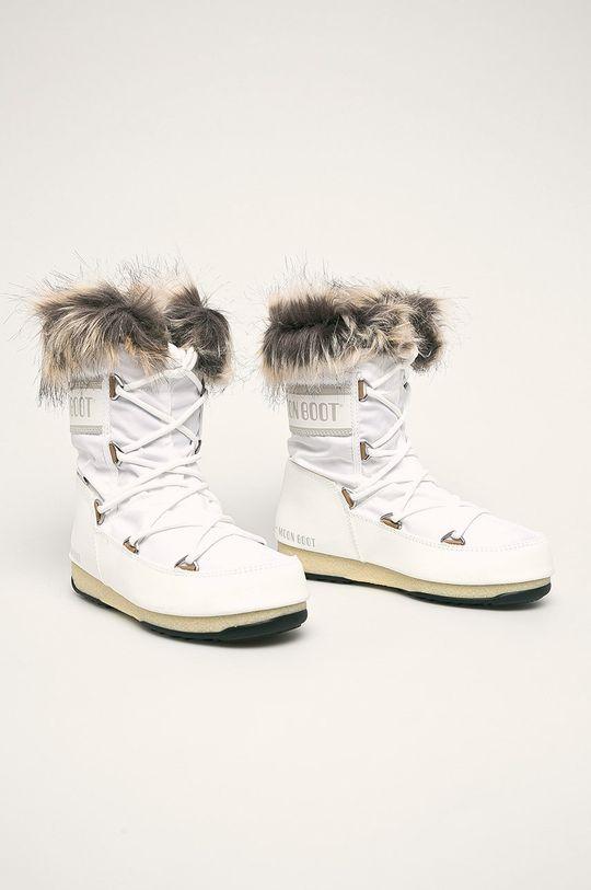 Moon Boot - Śniegowce Monaco Low WP 2 biały
