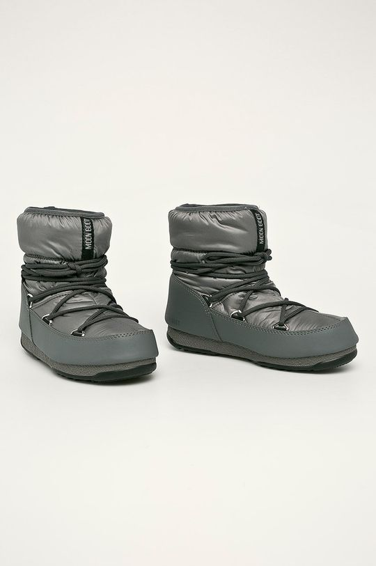 Moon Boot - Cizme de iarna Low Nylon Wp 2 gri